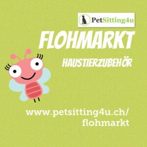 Neu: Petsitting4u Flohmarkt!