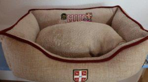 Verkauft! Hunter Hundesofa University Grösse S (60×40 cm) in Beige
